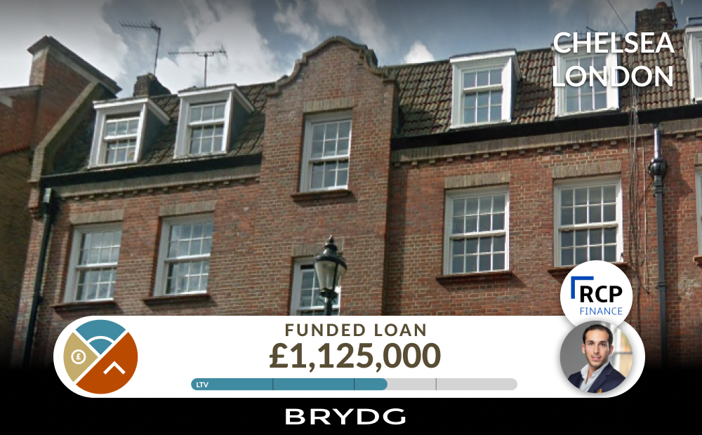 RCP Finance Closes Loan Funding using the Brydg Real Estate Platform